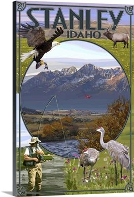 Stanley, Idaho, Town Scenes