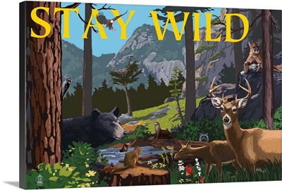 Stay Wild, National Park WPA Sentiment