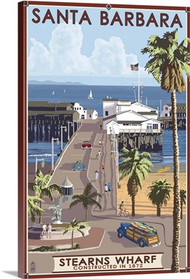 Stearn's Wharf, Santa Barbara, California