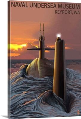Submarine, Naval Undersea Museum, Keyport, Washington