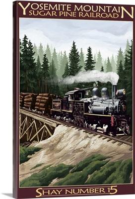 Sugar Pine Railroad, Yosemite Mountain