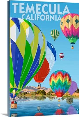 Temecula, California, Hot Air Balloons