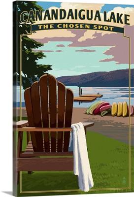 The Chosen Spot, Canandaigua, New York, Adirondack Chairs