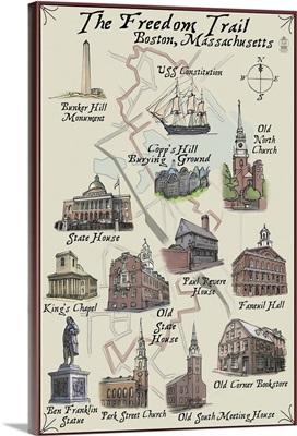 The Freedom Trail, Boston, Massachusetts