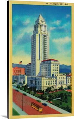 The Los Angeles City Hall, Los Angeles, CA