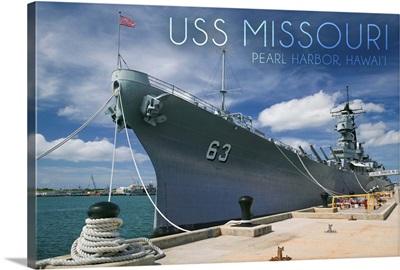 USS Missouri, Dock View