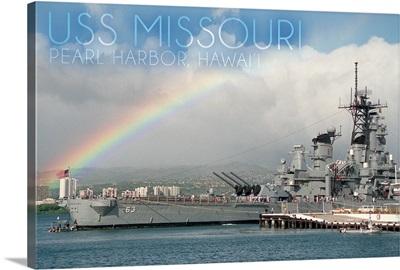 USS Missouri, Rainbow Scene