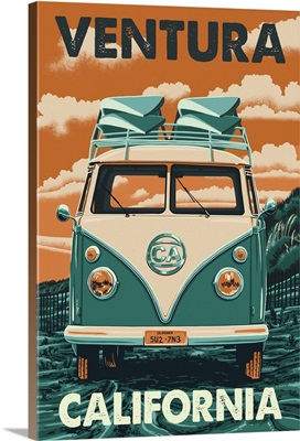 Ventura, California, VW Van