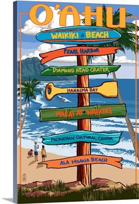 Waikiki Beach, Hawaii, Signpost Destinations