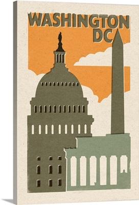 Washington D.C., Woodblock