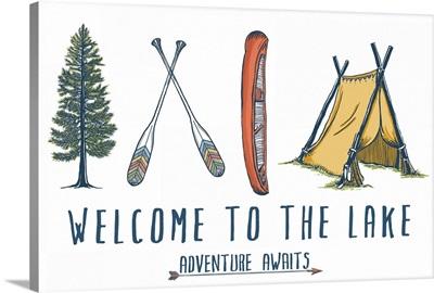Welcome to the Lake, Adventure Awaits