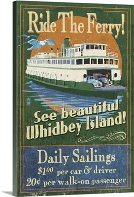 Whidbey Island, Washington, Ferry