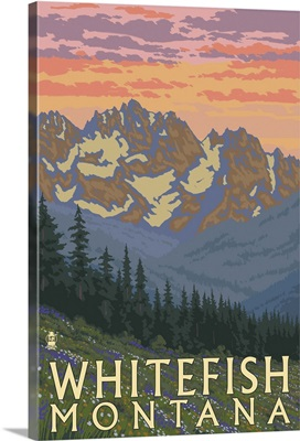Whitefish, Montana, Spring Flowers