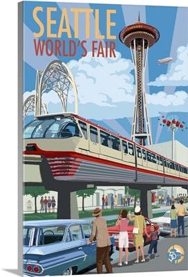 World's Fair, Space Needle, Seattle, Washington