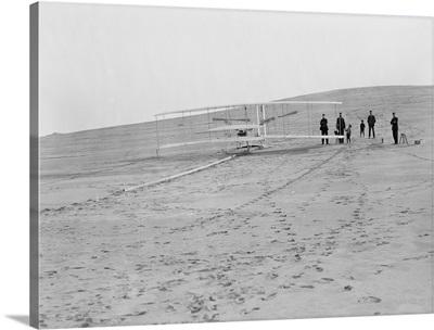Wright Brothers' 1903 Machine at Big Kill Devil Hill, Kitty Hawk, NC