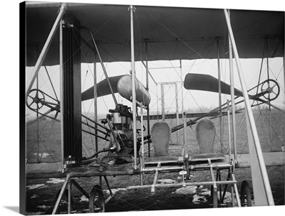 Wright Brothers Plane with Pilot and Passenger Seats, Dayton, OH