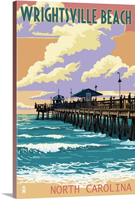 Wrightsville Beach, North Carolina, Beach Ball and Chair