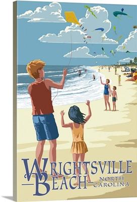 Wrightsville Beach, North Carolina, Kite Flyers