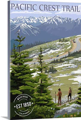 Wrightwood, California, Pacific Crest Trail and Hikers, Rubber Stamp