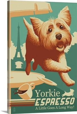 Yorkie Expresso, Retro Coffee Ad