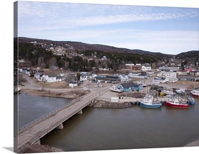 Alma, New Brunswick, Canada - Aerial Photograph
