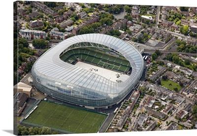 Aviva Stadium, Dun Laoghaire, Ireland - Aerial Photograph
