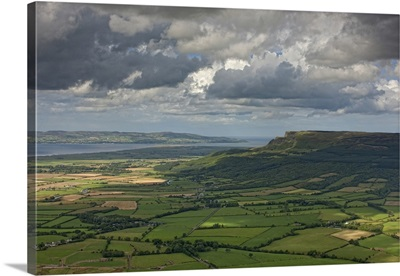 Binenenagh Forest and Magilligan Point, Ireland - Aerial Photograph