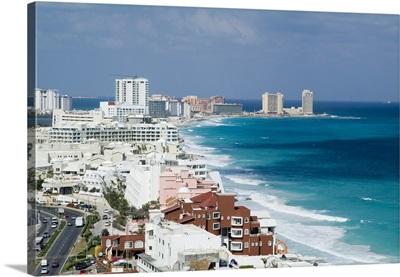 Cancun, Quintana Roo, Mexico - Aerial Photograph