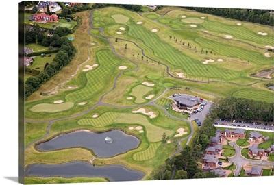 Castleknock Golf Course, Dublin, Ireland - Aerial Photograph