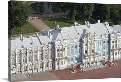 Catherine Palace in Tsarskoye Selo
