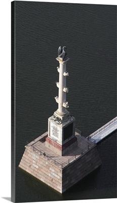 Chesma Column on Bolshoi Prud (Big Pond) in Catherine's Park inTsarskoye Selo