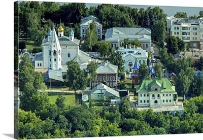 Chuvash Republic from Above