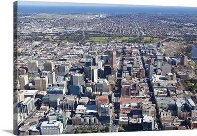 City Center, Adelaide, Australia - Aerial Photograph