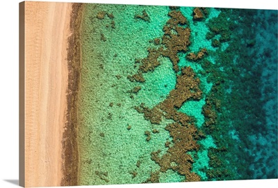 Coral Reef, Eilat - Aerial Photograph