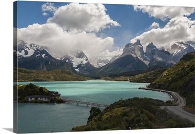 Cordillera Del Paine In Torres Del Paine National Park, Chile