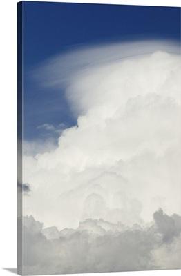 Cumulonimbus Clouds - Aerial Photograph