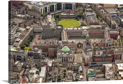 Dublin Castle, Dublin, Ireland - Aerial Photograph