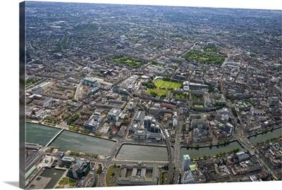 Dublin, Leinster, Ireland - Aerial Photograph