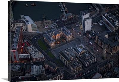 Dublins Big Wheel, Dublin - Aerial Photograph