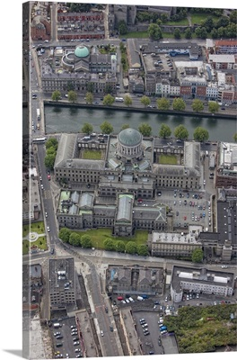 Four Courts, Dublin, Ireland - Aerial Photograph