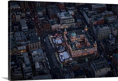 Guinness Storehouse, Dublin - Aerial Photograph