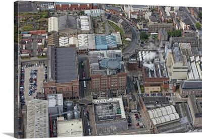 Guinness Storehouse, Dublin, Ireland - Aerial Photograph