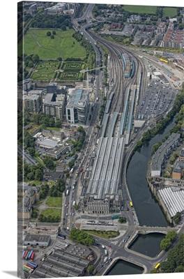 Huston Street Station, Dublin, Ireland - Aerial Photograph