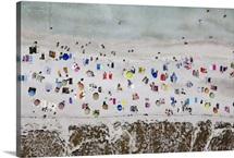 Illetes Beach, Formentera, Spain - Aerial Photograph