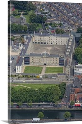 Irish National Museum, Dublin, Ireland - Aerial Photograph