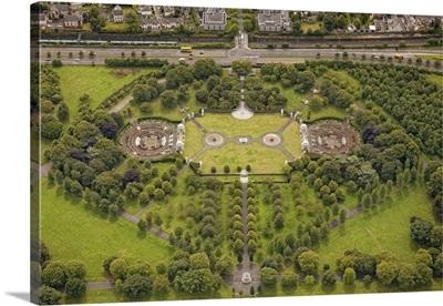 Irish National War Memorial Park And gardens, Ireland - Aerial Photograph
