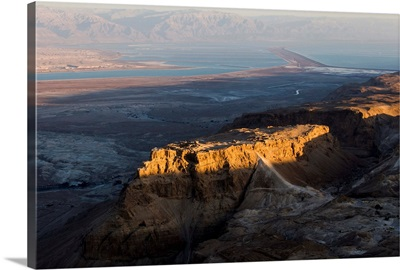 Massada, Dead Sea - Aerial Photograph