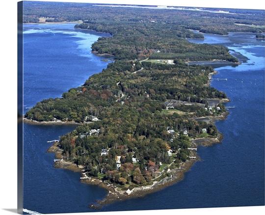 Mere Point, Brunswick, Maine, USA