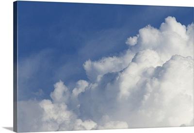 Monsoonal Thunderstorm Development, Colorado - Aerial Photograph