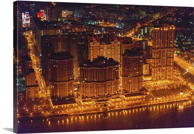 Moscow, Russia. 'Alye Parusa' ('The Scarlet Sails') Residential Estate